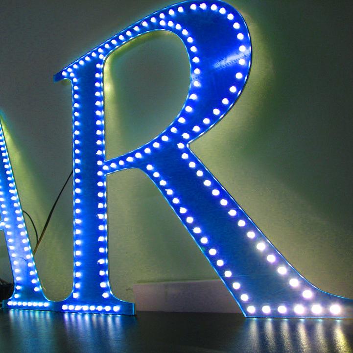 Как сделать светящийся буквы в фотошопе